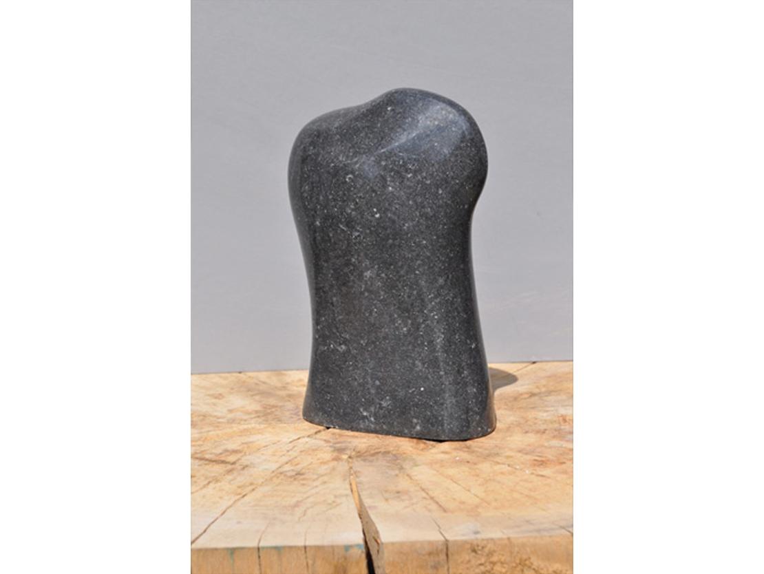 Titel: Zonder titel Materiaal: Belgisch hardsteen Formaat: 19 cm hoog